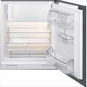 Smeg Built-under Fridge With Ice Box