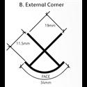 Showerwall External Trim