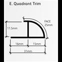 Showerwall Quadrant Trim