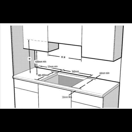 Grundig 60cm Front control gas hob