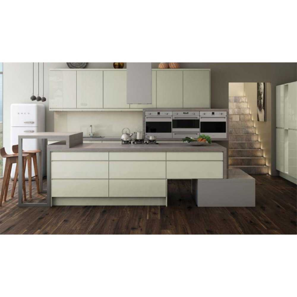 Bretton park glass wall units collection 2 gloss for Gloss kitchen wall units