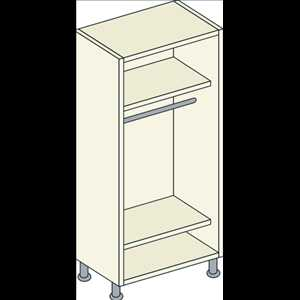 Bretton Park Single Hanging Unit - 2 Shelf