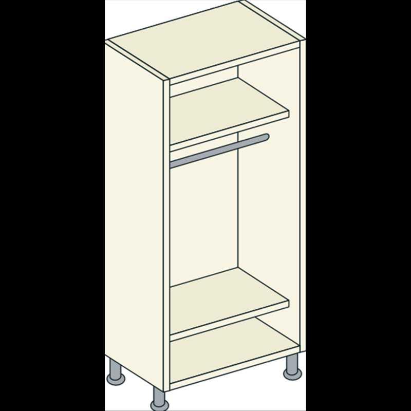 Bretton Park Single Hanging Unit - 2 Shelf