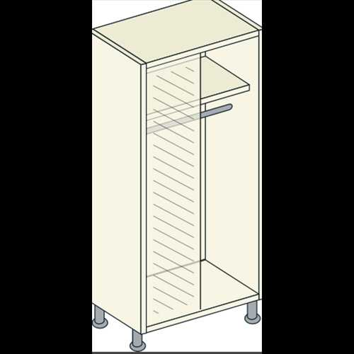 Bretton Park Corner Full Hanging Unit - 1 Shelf