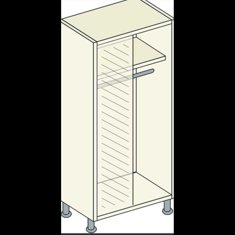 Bretton Park Corner Full Hanging Unit - 1 Shelf