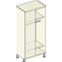 Corner Single Hanging Unit 2 Shelf - Bretton Park