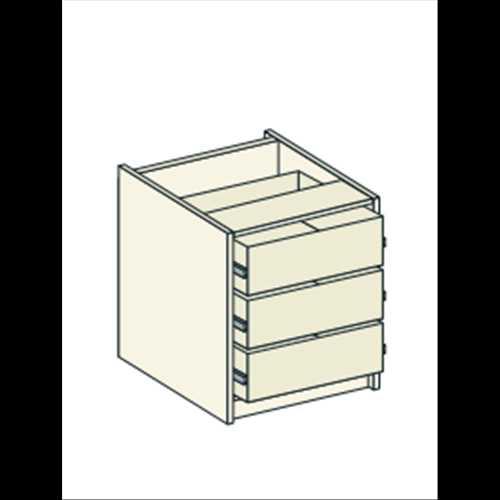 Bretton Park Bedside Drawer Unit - 3 Drawers