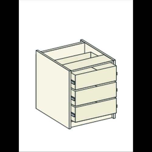 Bretton Park Dresser Unit - 3 Drawers