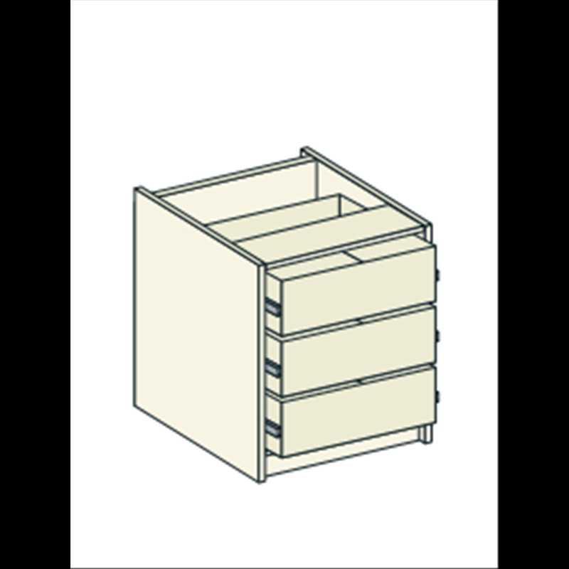 Bretton Park Dresser Unit - 3 Drawers