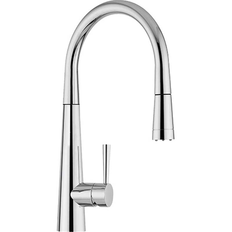 Franke Rolux Pull Out Nozzle with LED Chrome Tap