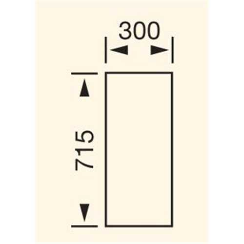 300mm wall unit