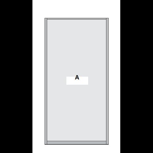 Single Panel Sliding Wardrobe Door