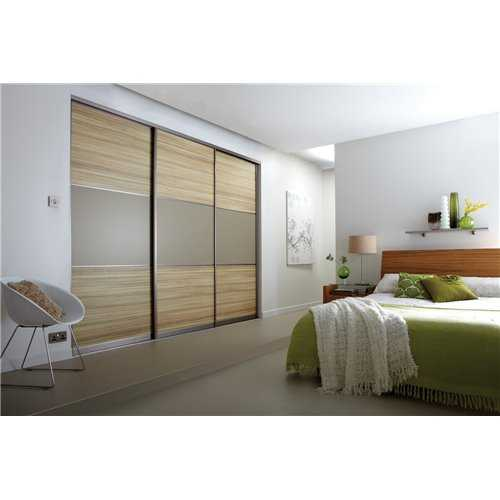 3 Panel Sliding Wardrobe Door