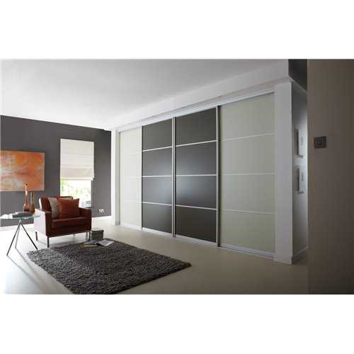 4 Panel Sliding Wardrobe Door