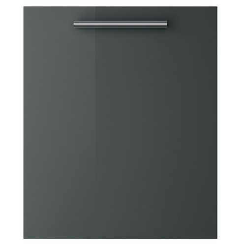 Melbourne Gloss Dark Grey - Angled Corner Unit