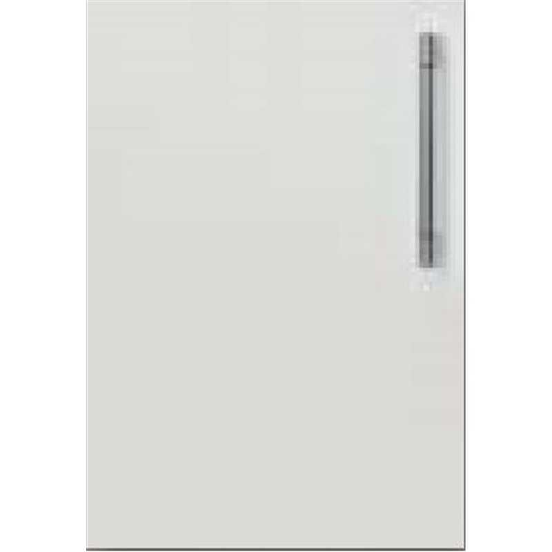 Fiora Gloss Light Grey - Angled Corner Unit