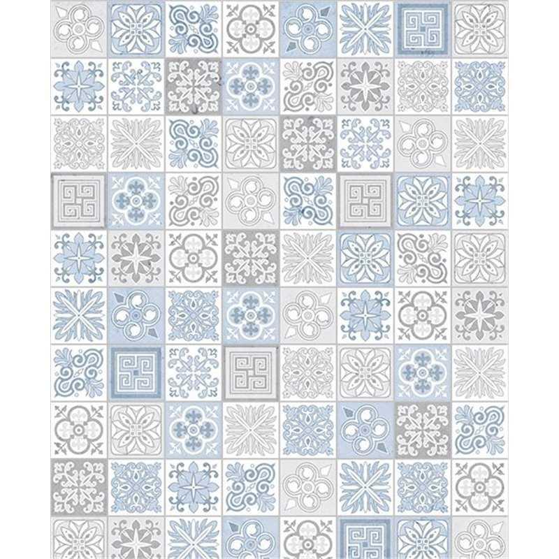 Showerwall Victorian Blue
