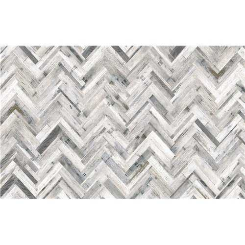 Vista Herringbone Whitewash MDF