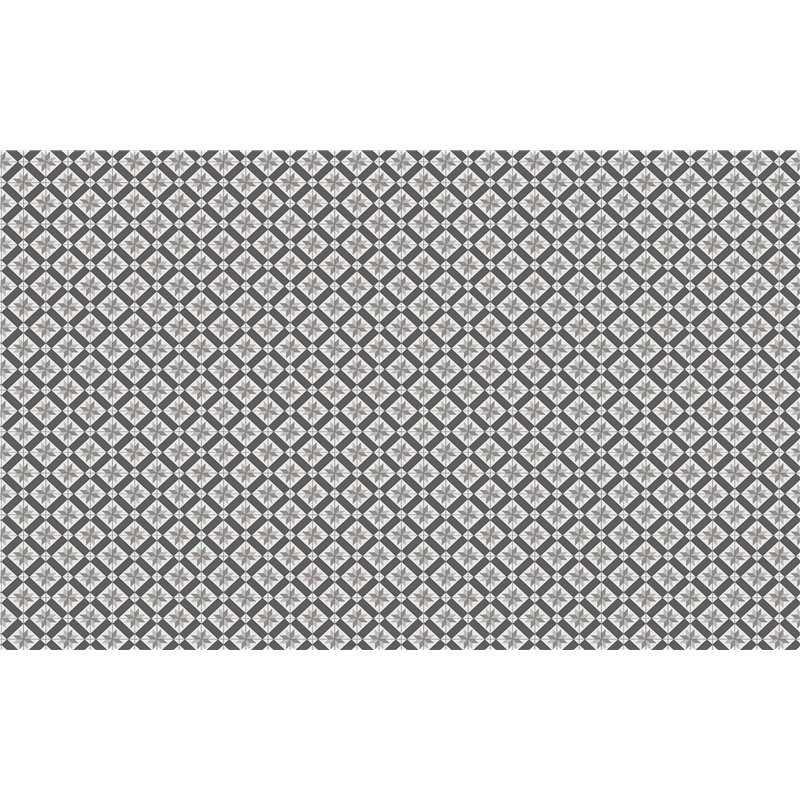 Vista Kaleidoscope Charcoal Grey Acrylic