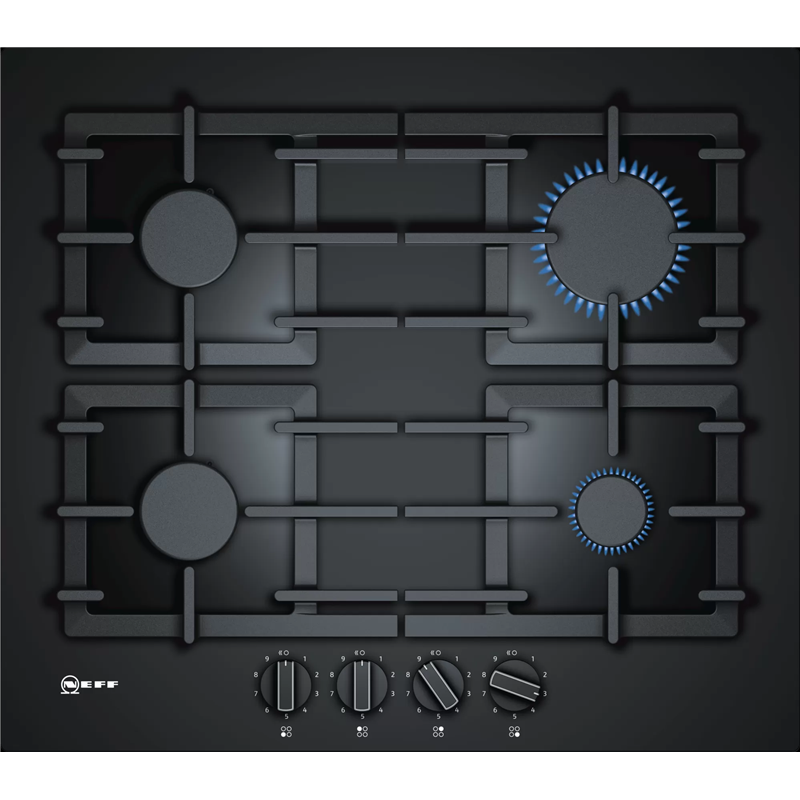 Neff T26CS49S0 N70 60cm Gas on Glass Hob