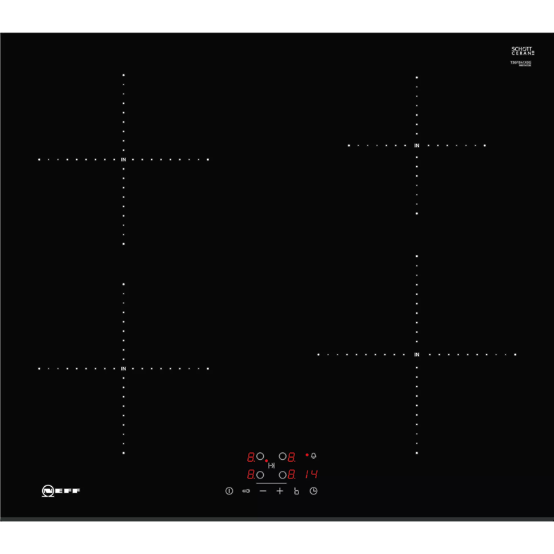 Neff T36FB41X0G N50 60cm 4 Zone Induction