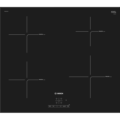 Bosch PUE611BF1B Series 4 60cm Induction Hob