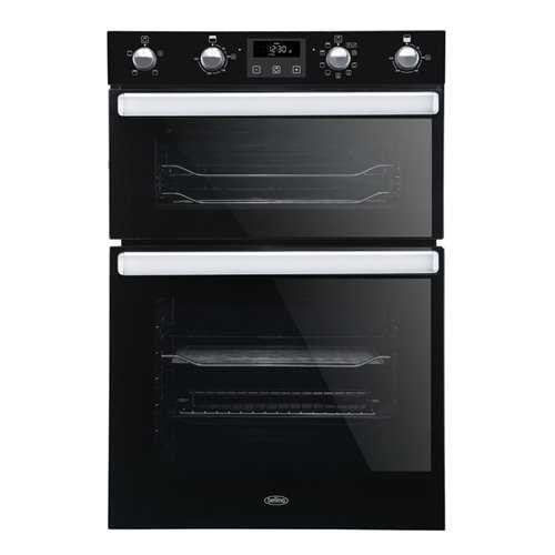 Belling BI902MFCT Built In Double Multifunction Oven