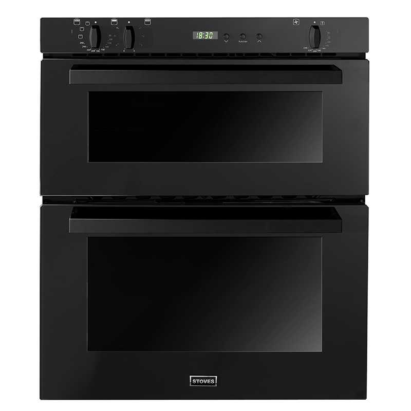 Stoves SEB700FPS B/Under Double Oven