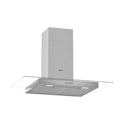 Neff D64GBC0N0B Flat Glass Chimney Hood