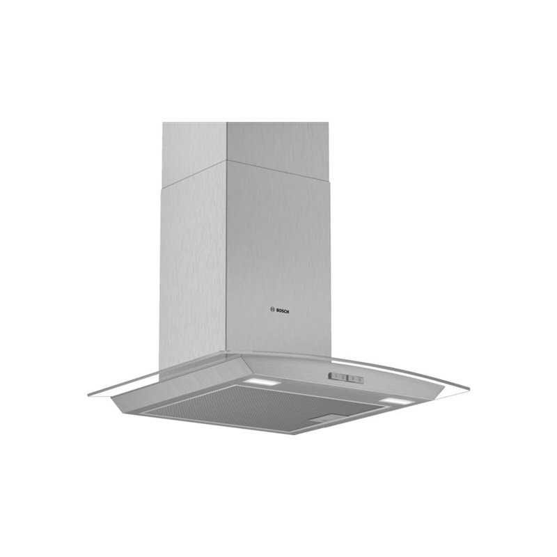 Bosch DWA64BC50B Series 2 Curved Glass Hood