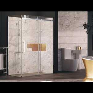 Solid Sliding Door Shower Enclosure - Bretton Park