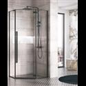 Texo Penta Frameless Pivot Shower Door - Bretton Park