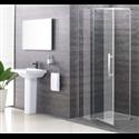 Penta Frameless Pivot Shower Door - Bretton Park