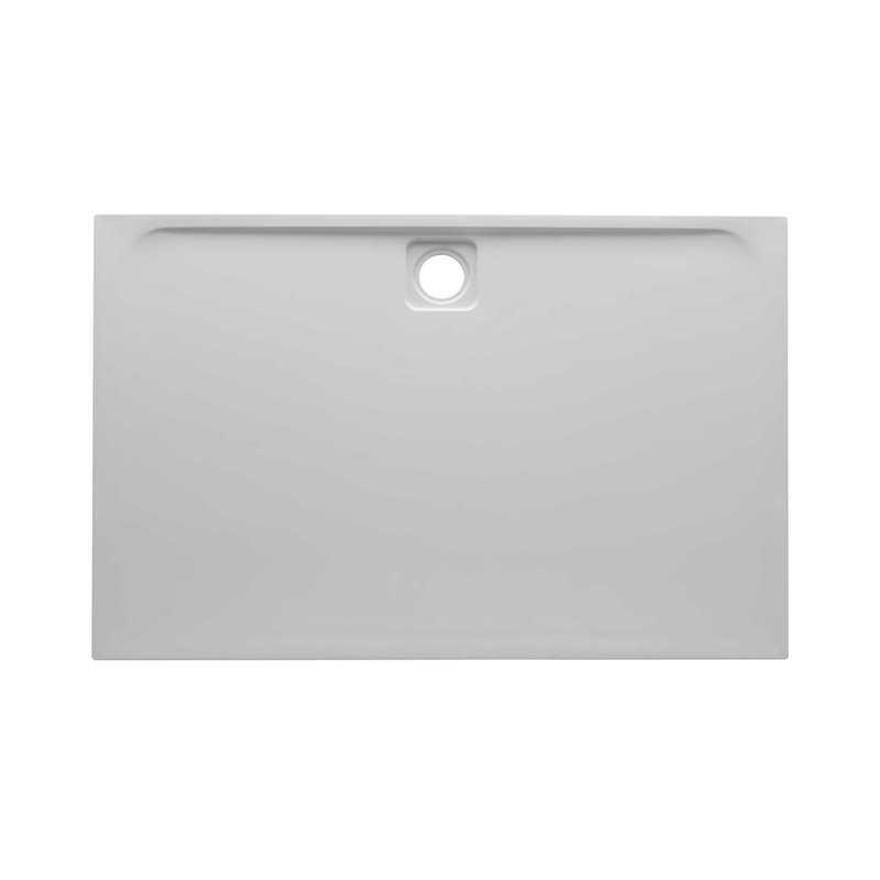 Rectangle Elegant Slimline Double Skinned Acrylic Cast Stone Shower Trays - Bretton Park