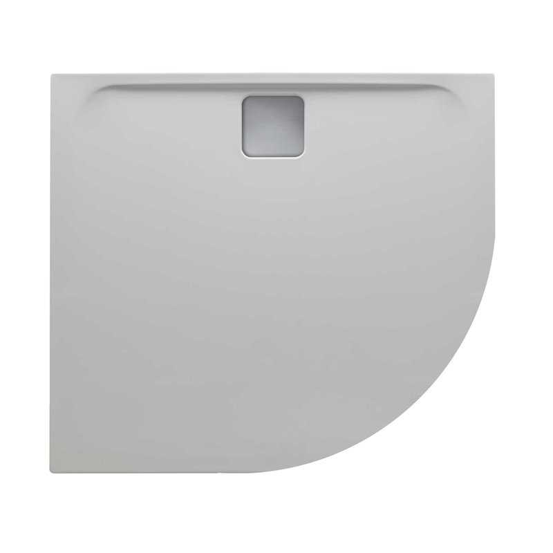 Quadrant Elegante Slimline Doube Skinned Acrylic Cast Stone Shower Trays - Bretton Park