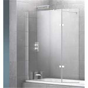 Roma Bath Screen With Hinged Panel - Bretton Park