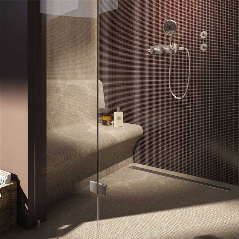 Linear Drain Shower Bases - Bretton Park