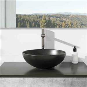 Sphere Black Countertop Bowl - Bretton Park