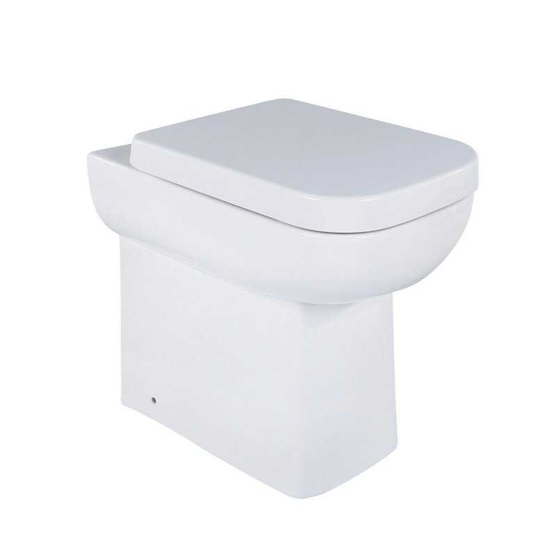 Alchemist Comfort Height Back To Wall Toilet - Bretton Park
