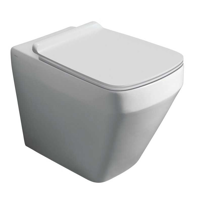 Bella Rimless Back To Wall Toilet - Bretton Park
