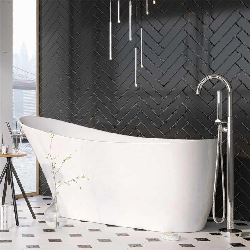 Sleek Freestanding Acrylic Bath - Bretton Park