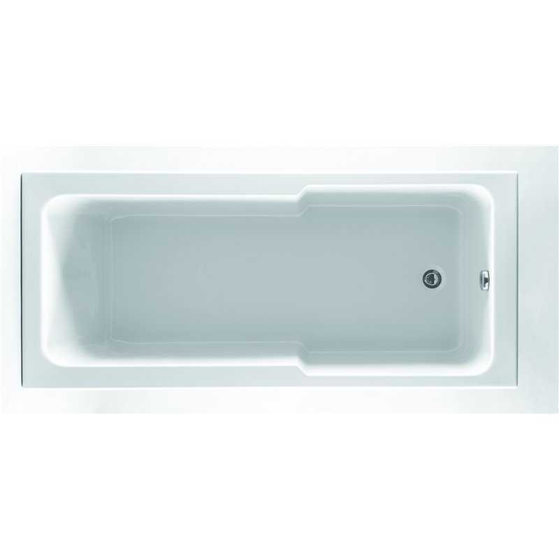 Jorah Single Ended Acrylic Compact Shower Bath - Bretton Park