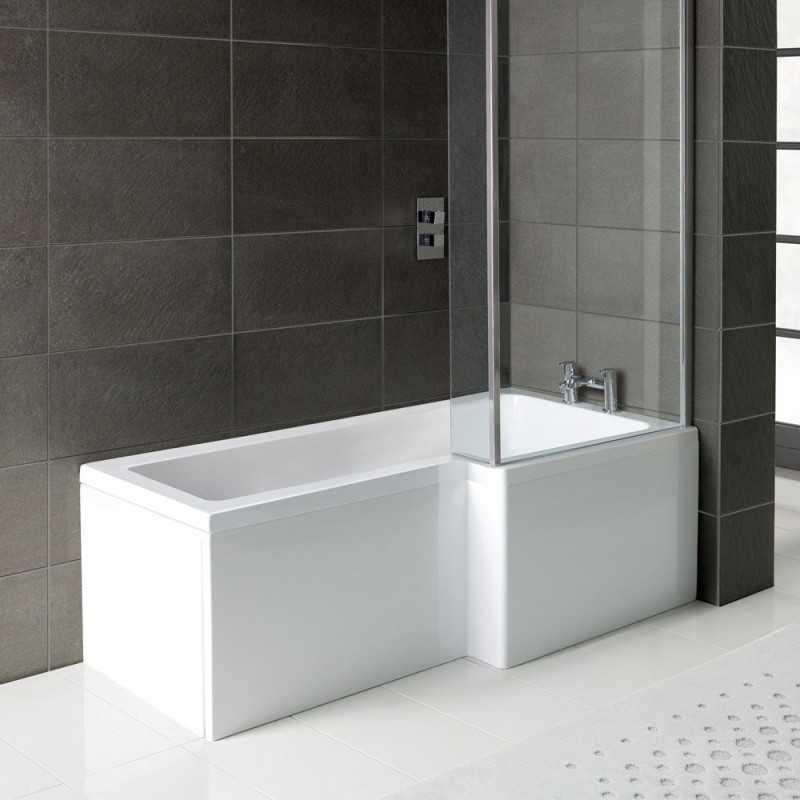 L Shaped Bath Panels - Bretton Park