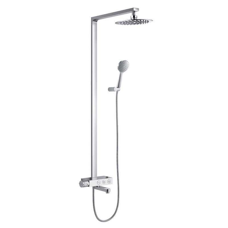 Ion Designer Shower Pack with Bath Filler - Bretton Park