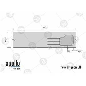Apollo Slabtech White Carrara