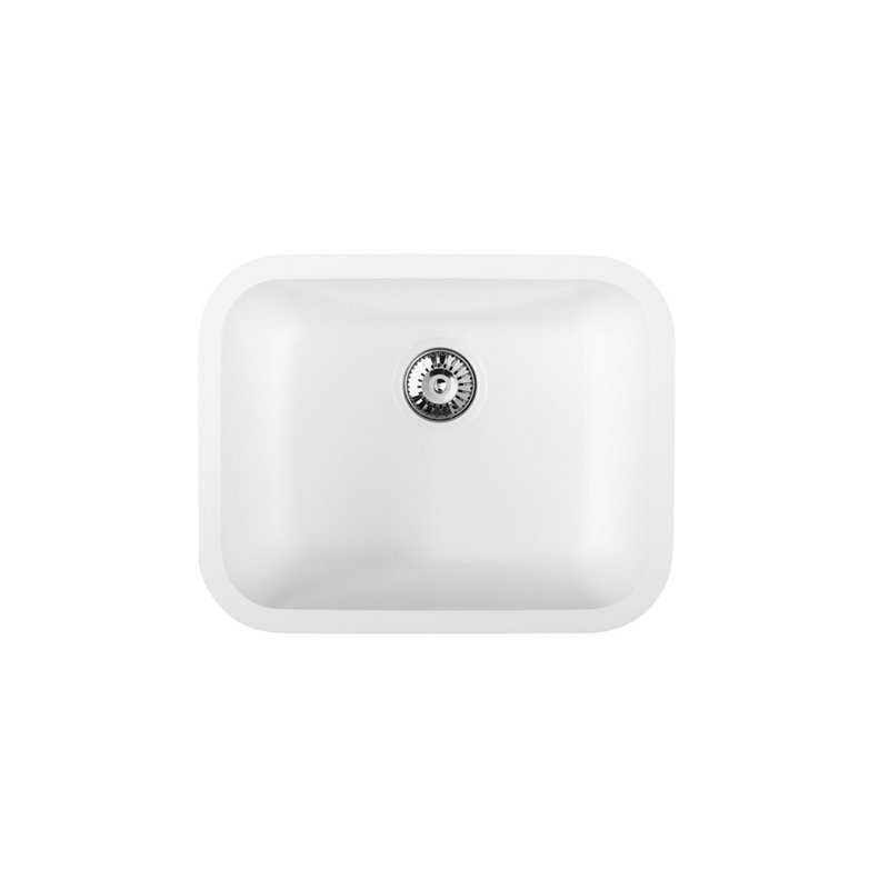 River Argun Single Bowl Solid Surface Sink