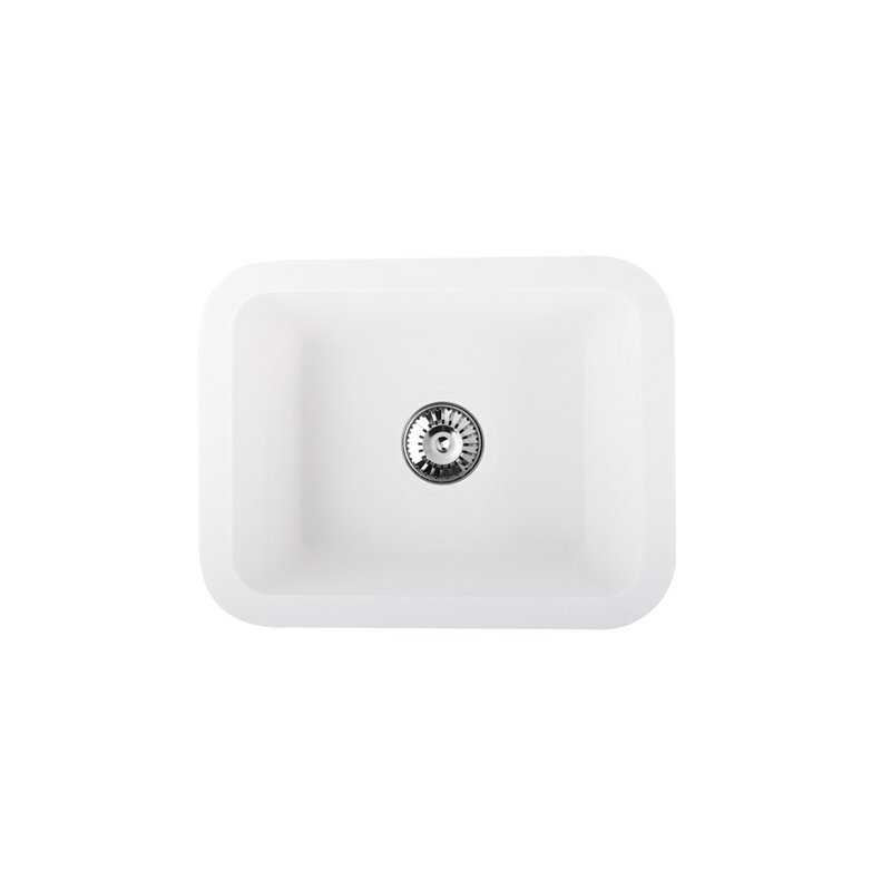 River Sefid Single Bowl Solid Surface Sink
