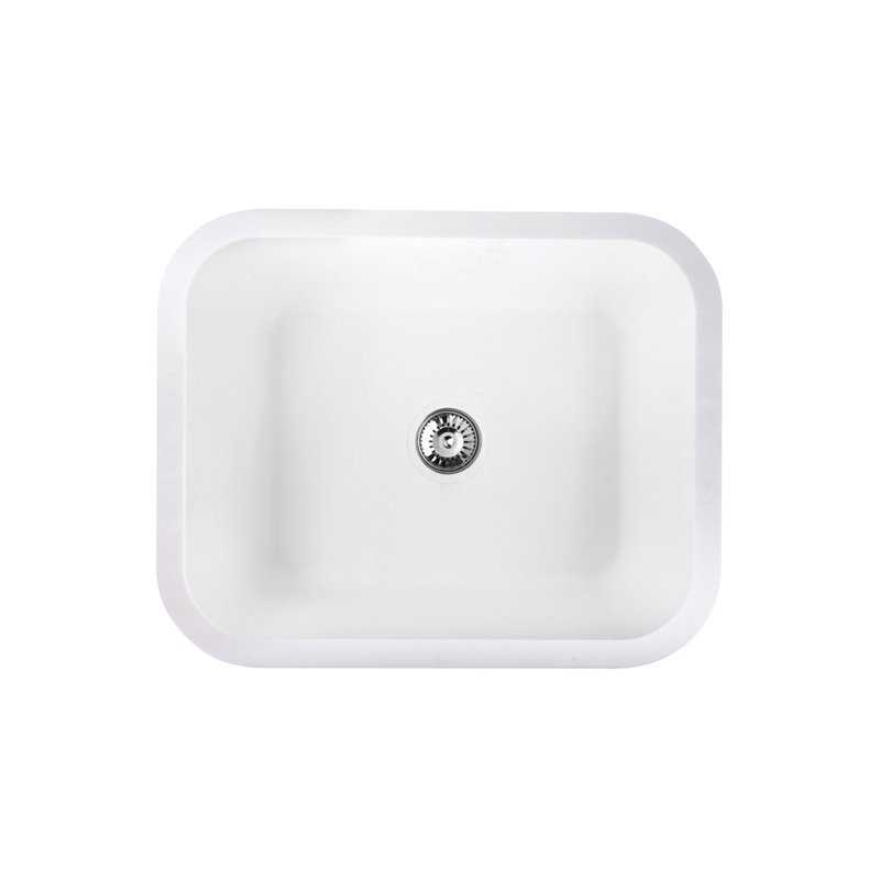 River Salween Single Bowl Solid Surface Sink