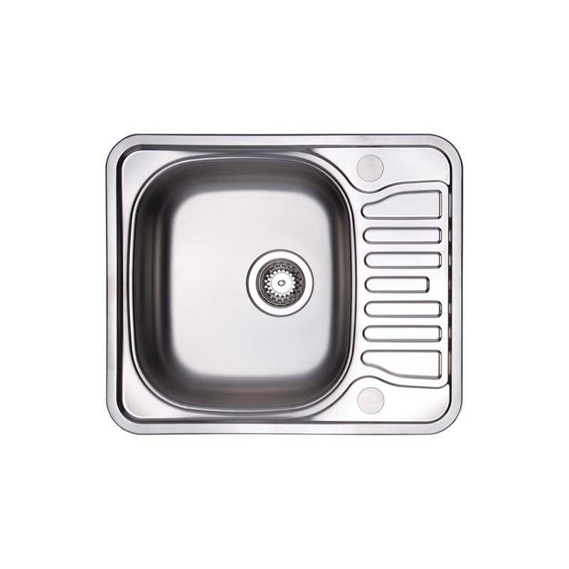 River Teme Single Bowl Stainless Steel Sink
