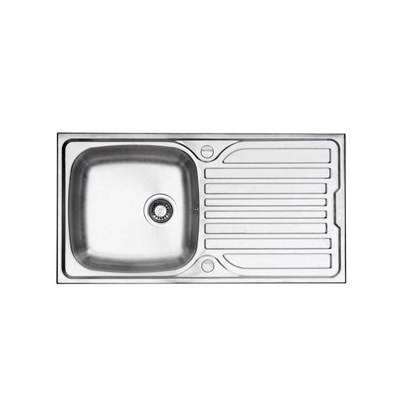 River Ribble Single Bowl Stainless Steel Sink